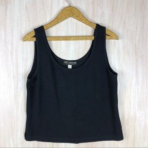 St John Basics Black Tank Top Shirt